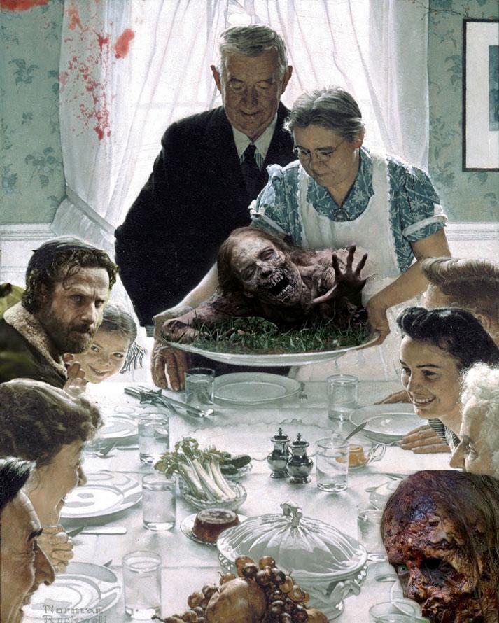 Happy ThanksGiving Walking Dead